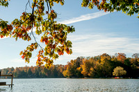 Findley Lake in the Fall